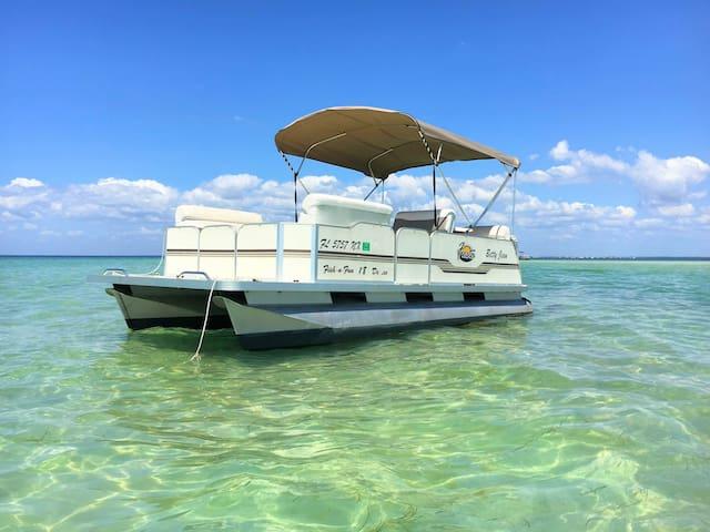 Free Pontoon Boat~Island Beach~Heated Pool