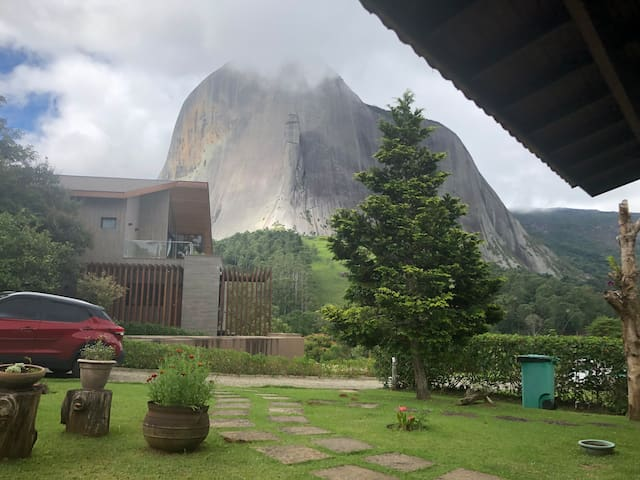 House at the foot of Pedra Azul
