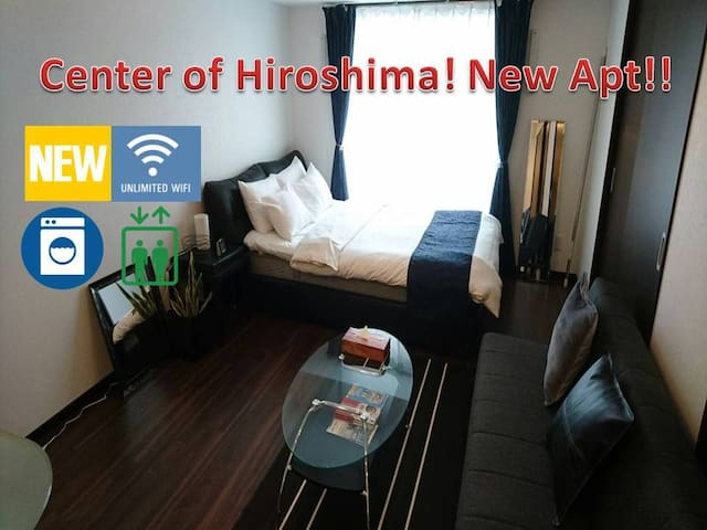 Naka-ku, Hiroshima的民宿
