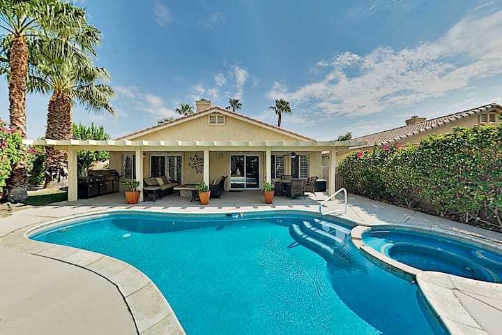 Indian Palms Country Club Home with Pool & Spa!