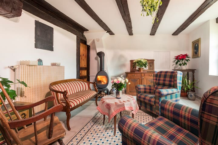 COSY FLAT IN  TYPICALLY ALSATIAN  HOUSE