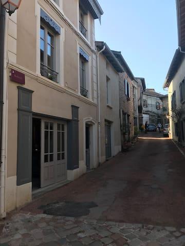 Saint-Haon-le-Châtel的民宿