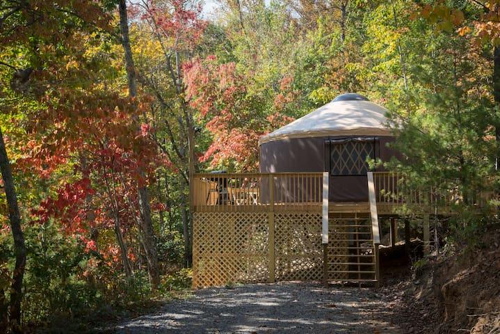 Namaste Yurt, best of both worlds