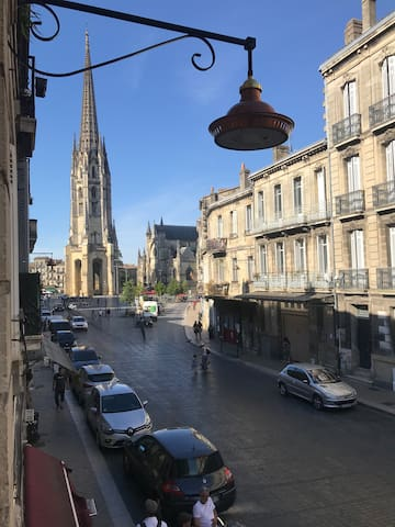 Appartement, parking et chat à Saint-Michel