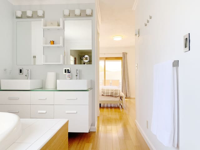 Walkable Location - Master Room with Private Bath