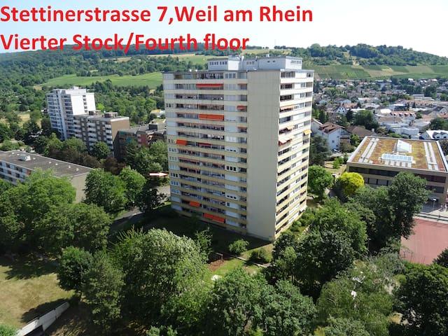 Weil am Rhein apartement für 6 Personen