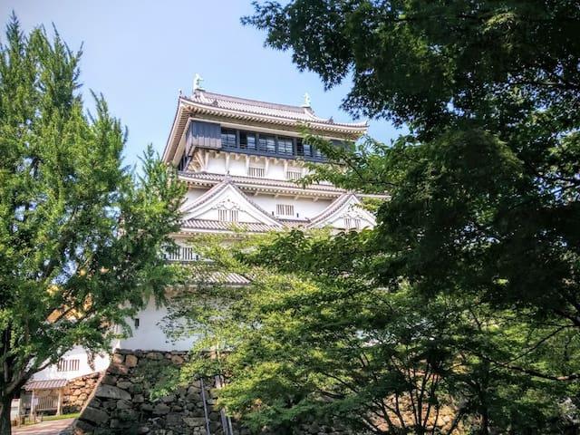 Chikujō-machi的民宿