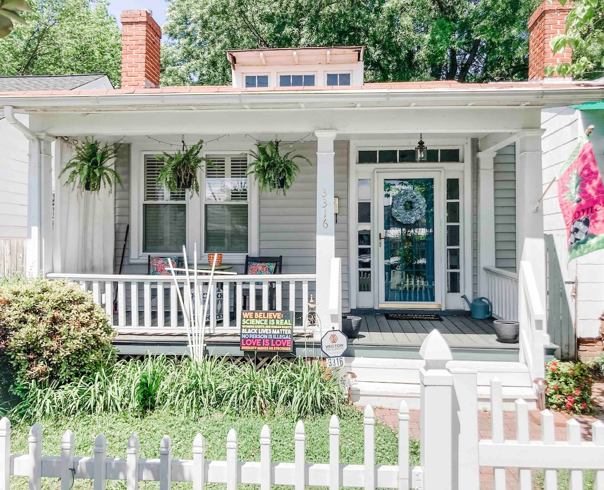 Charming Bungalow in the heart of Carytown