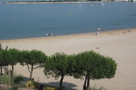 Appartement on the beach for 4 to 6 persons