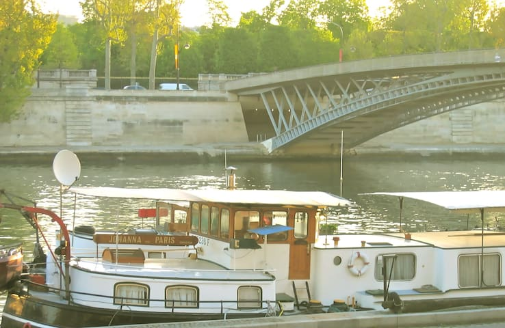 ⚓️Cosy houseboat in the center of Paris ⚓️