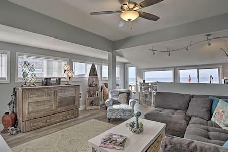 NEW! Oceanfront Newport Condo w/Deck & Views!