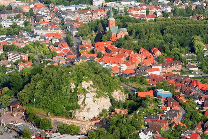 Appartment Siegesburg, zentral am Kalkberg