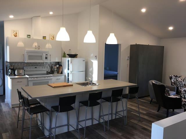 Bel appartement style Loft (ZOO, Ski, Vélo)