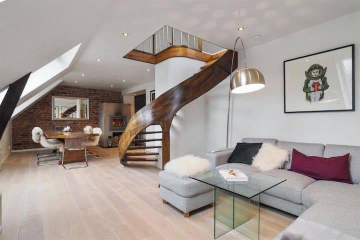 Elegant and spacious apartment in city centre