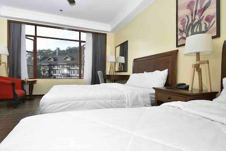 Manor Hotel Garden View Room! SALE SALE  SALE! :)