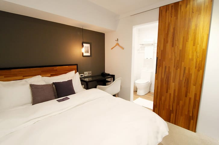 大安公園旅店 - Double bed private room