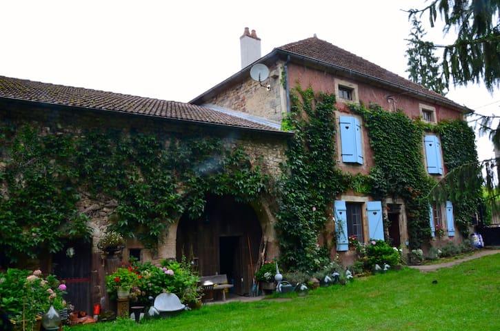 Family room in romantic Maison de Maître