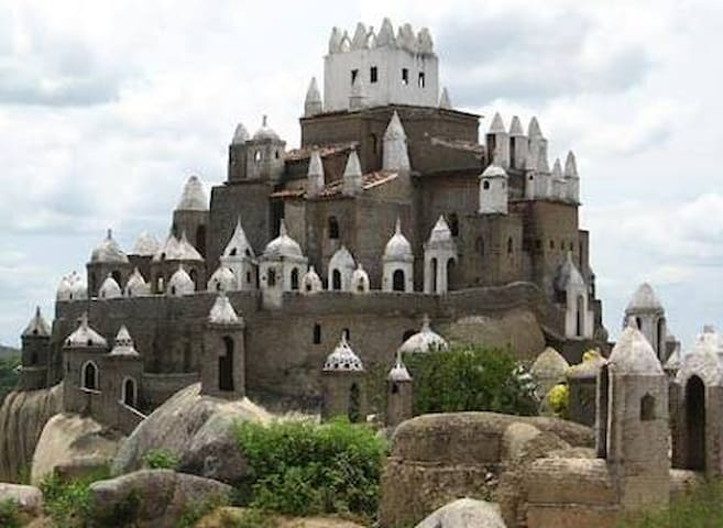 Serra da Tapuia-Sítio Novo-RN-Castelo Zé do Monte