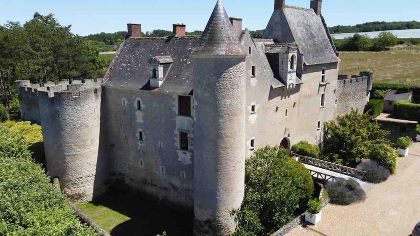 Loue château familial 12 personnes Val de Loire