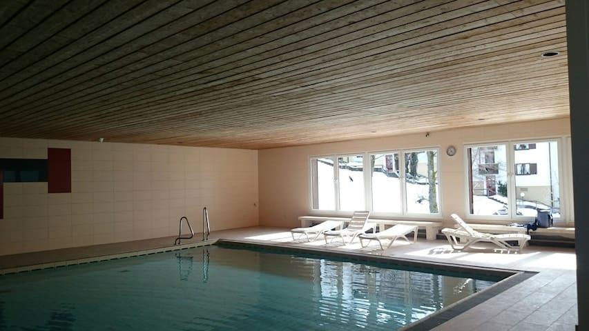 Wohnung im Ferienpark in Missen mit Hallenbad