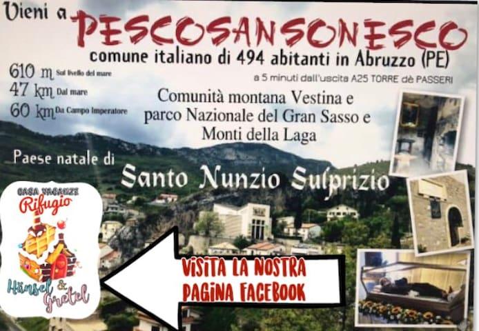 Pescosansonesco Vecchio的民宿
