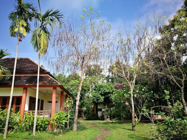 泰国/清迈二居室独立一层别墅,独立的庭台阁楼,泰北风光尽收眼底,安全且舒适的周边环境