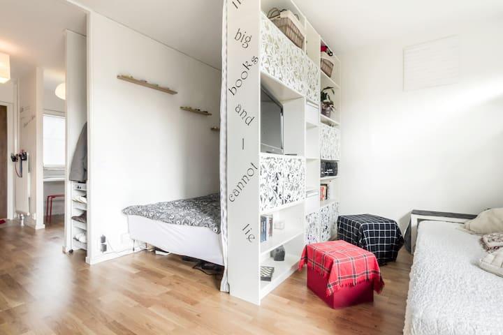 cozy&modern studio in a green area