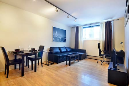 Fully Equipped Condo minutes from downtown