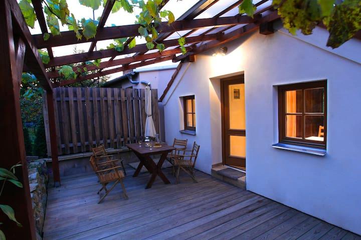 Apartment in wine cellar village