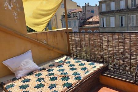Marseille: Terrasse en centre ville