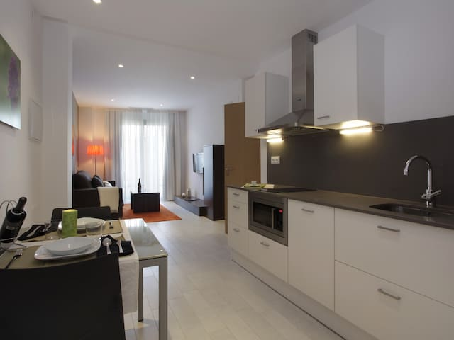 Apartment for 2 near Camp Nou
