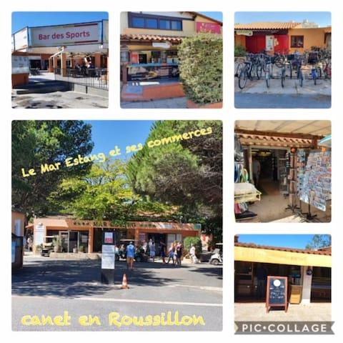 鲁西隆地区卡内 (Canet-en-Roussillon)的民宿