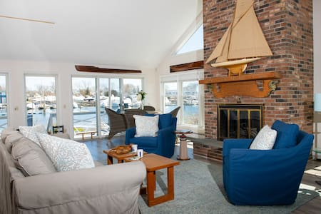 Haigh House, waterfront home in Wickford village
