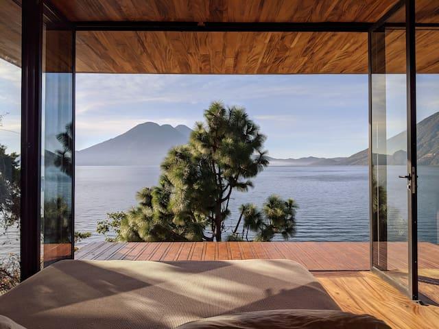 Glass House ~ Lakefront Studio