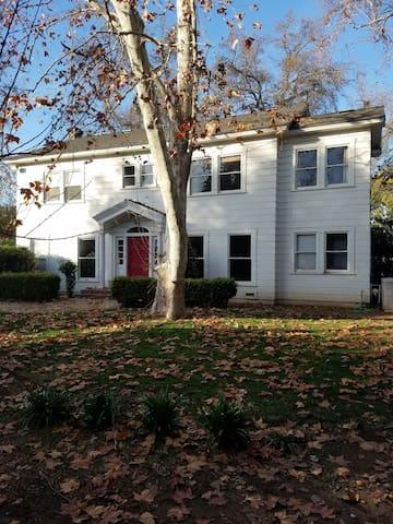 Historic Fresno home with European charm.