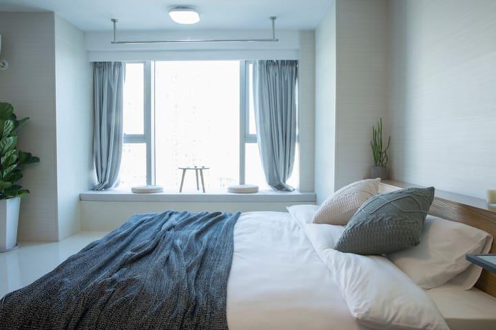 yoyo之家木兮 大床房 精装修 独立房间 设施完善