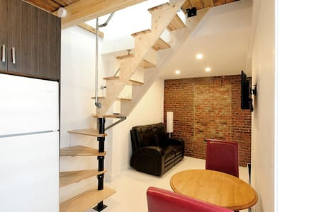 Brand new 2-Story Loft Downtown Quebec City