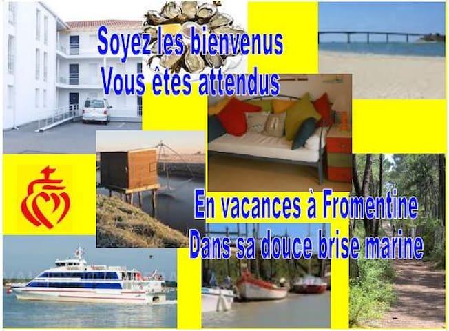 Appart vue / mer Fromentine Vendée