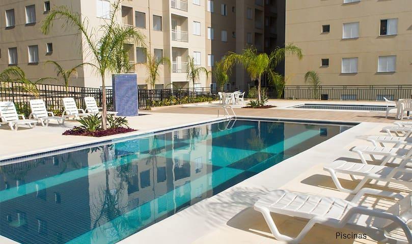 Novo apartamento stilo 2 quartos Granja Vianna