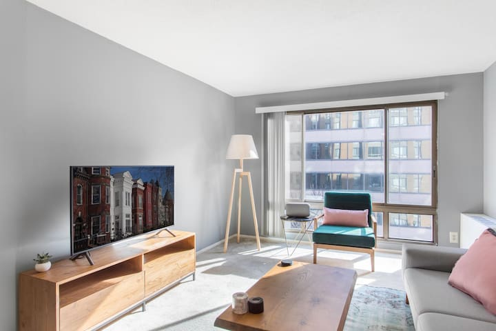 Cozy Downtown 1BR w/ Gym, near Logan Circle by Blueground