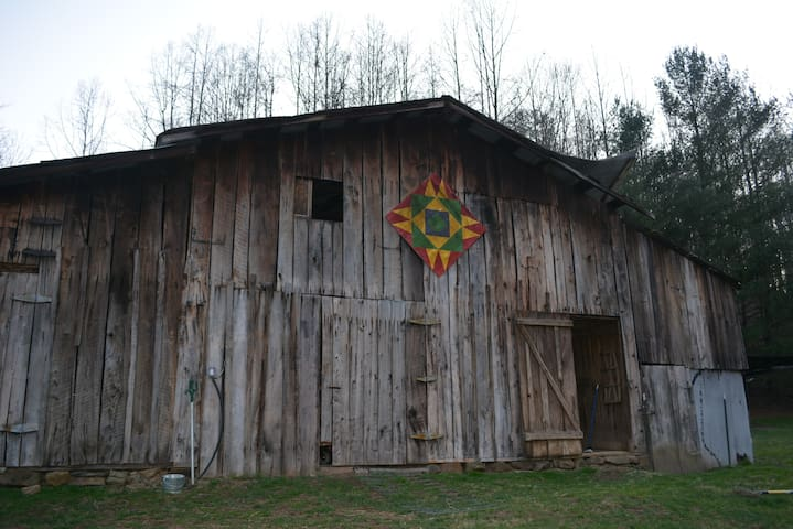 Century Old WV Barn Loft at our Strawberry Farm