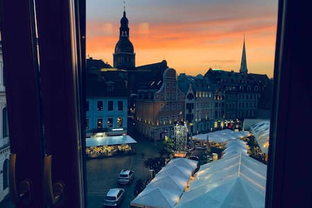 Luxury Suite ★ Old Riga Breathtaking View +Parking