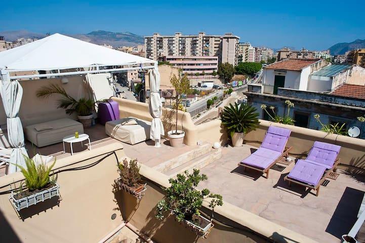 MU' house - Terraces on city center