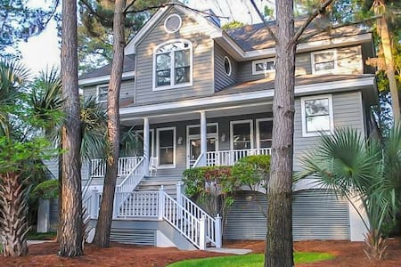 Kiawah Home with Private Pool & Large Porch