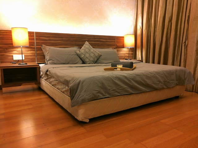 ☆PrivateRoom☆Spacious and Snug with KingBed