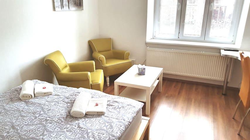České Budějovice的民宿