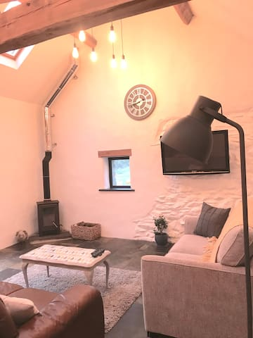 Cosy Cowshed in the Preselis - Dogs Welcome
