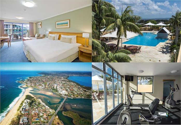 Absolute Waterfront! 4* Resort Rooftop Pool & Spa