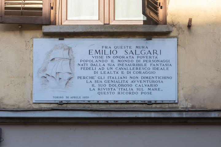 La casa di Salgari
