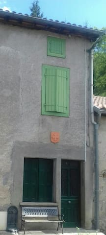 Maison verte canton d'Aspet